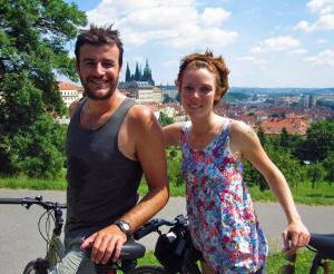 David og Margrete i Frankrike
